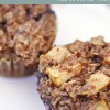 Baked Oatmeal Cups with Apple and Blueberry