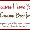 Create Your Own Valentines Coupon Booklet for FREE!