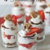 Chocolate Chip Cookie, Strawberry Trifle
