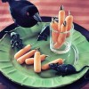 Creepy Carrot Fingers {Healthy Food for Halloween}