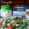 Spinach and Strawberry Salad with Chocolate Balsamic Vinaigrette