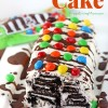 M&M's® Crispy IceBox Cake