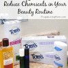 6 Inexpensive Ways to Reduce Chemicals in Your Beauty Routine #ad