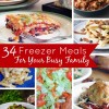 34 Freezer Meal Ideas for Busy Families