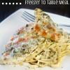 Lemon Pesto Chicken Freezer Meal Recipe