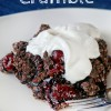 Chocolate Cherry Crumble