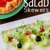 Italian Salad Skewers