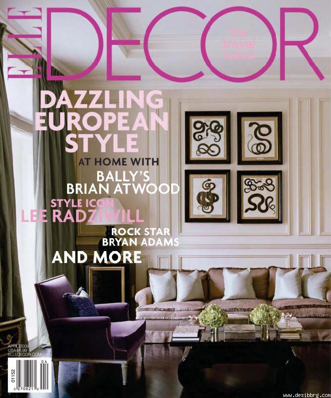 sultry sophisticated and stylish elle decor magazine epinionscom