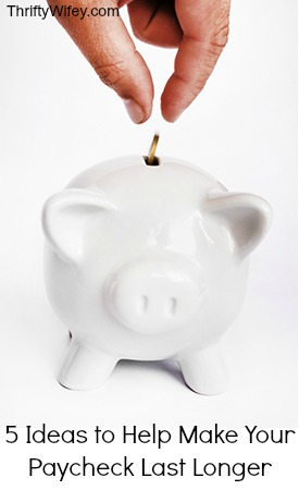 ways to save mone