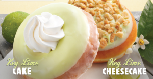 key lime doughnut