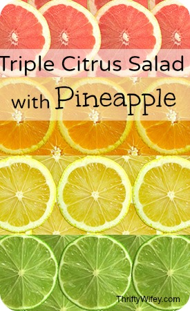 Triple Citrus Salad with Pineapple