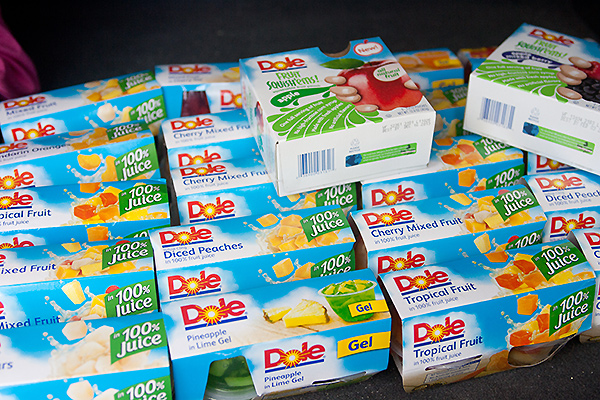 Dole Fruit Cups and Squish'ems #shop