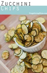 Dehydrated Zucchini Chips Recipe