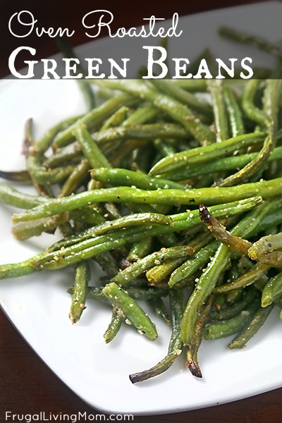 oven roasted fresh green beans