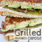 Grilled Southwest Chipotle Turkey Sandwich (AD)
