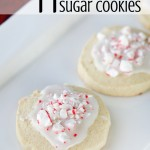 Slice and Bake Peppermint Sugar Cookies