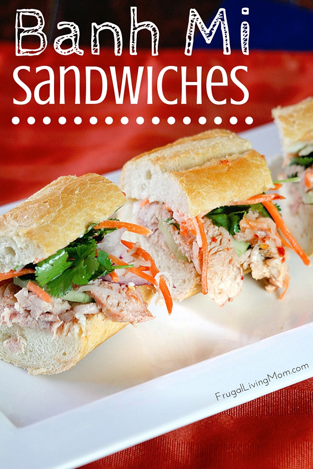 Banh Mi Sandwich Recipe