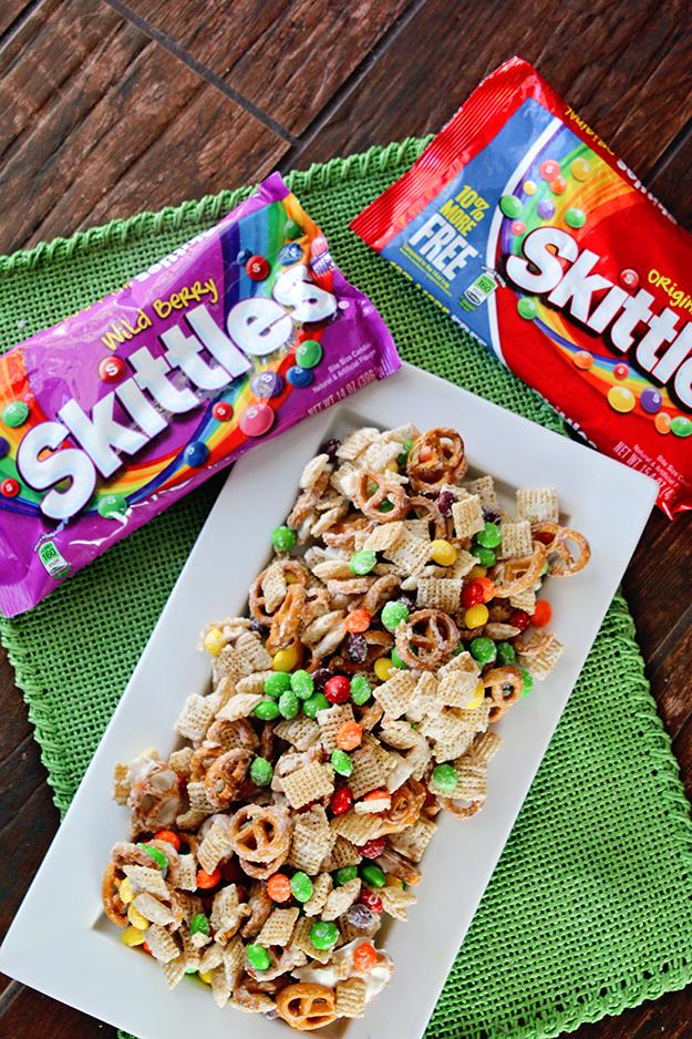 Rainbow Snack Mix