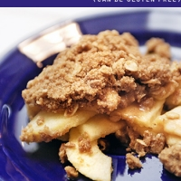 Gluten Free Apple Crisp (That You Can Serve Company!!)