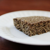 Gluten Free, Low Carb Flax Bread