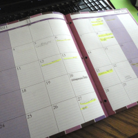Keeping Organized with a Bill Calendar