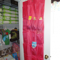 Using An Over The Door Organizer For Nursery or Any Room!