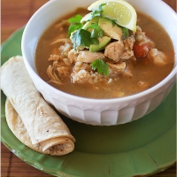 Mexican Chicken and Rice Soup (Lourdes Chicken Soup Recipe)