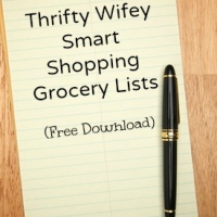 Smart Shopping Grocery List (Free Download)