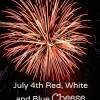 July 4th Red, White and Blue Cheese Ball Recipe