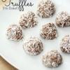Coconut Pecan Truffles (No Bake!!)