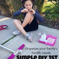 Organize Your Family's Health Needs with Refill Reminders (and a DIY 1st Aid Kit) #Ad