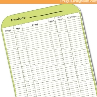 How to Create Your Own Grocery Price Book