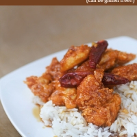 Spicy Double Crunchy Garlic and Honey Chicken