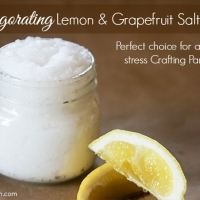 Recipe for Citrus Salt Scrub