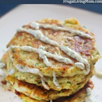 Crispy Zucchini Fritters