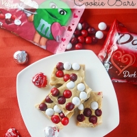 No Bake M&M's® Red Velvet Cookie Bars