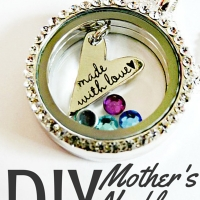 DIY Mothers Necklace on a Budget