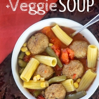Quick Spaghetti and Meatball Soup Recipe