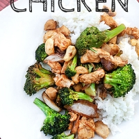 Broccoli Cashew Chicken