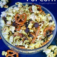 Curried Popcorn Party Mix
