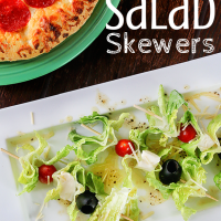 Italian Salad Skewers