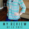 My Le Tote Review. Get Your First Box Free. (Oh My Goodness, I Love This So Much)