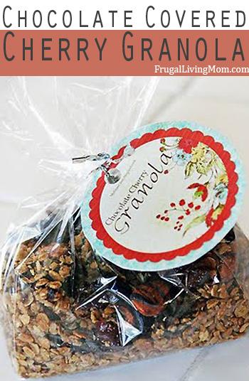 chocolate covered cherry granola