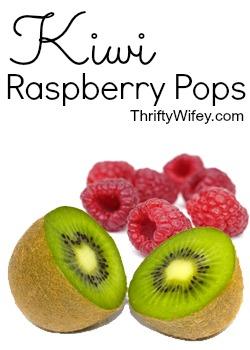Kiwi Raspberry Pops