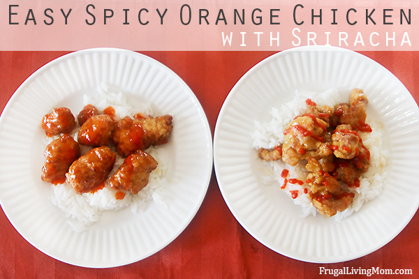 Easy, Spicy Orange Chicken with Sriracha Recipe #ChooseSmart #shop