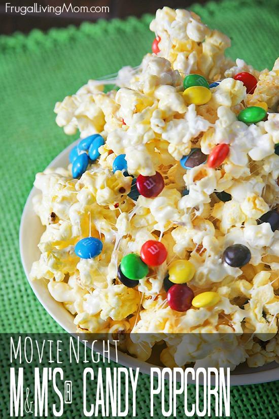 M&M's® Candy Popcorn