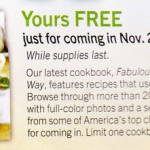 FREE Fabulous Food The Costco Way Cookbook (11/28-11/30)