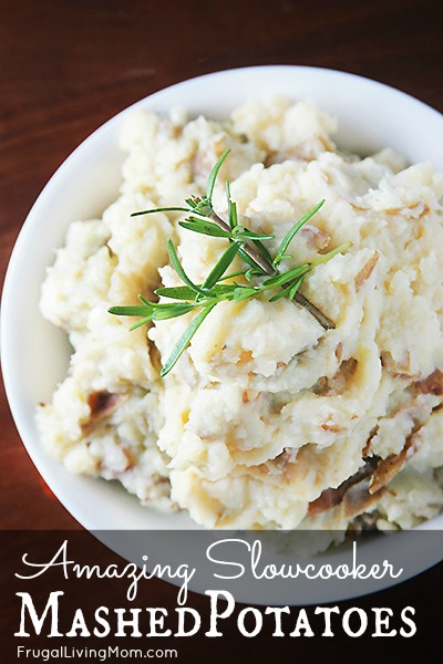 Slowcooker Mashed Potatoes