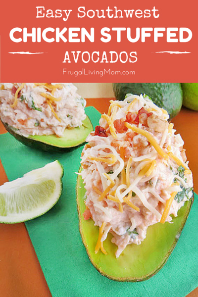 Chicken Stuffed Avocados