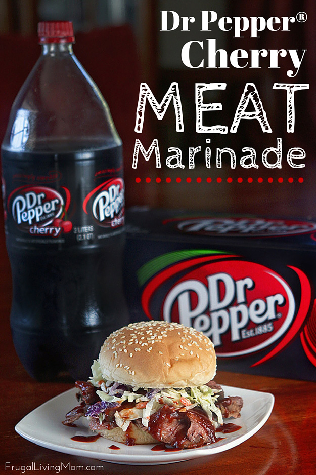 Dr Pepper Meat Marinade